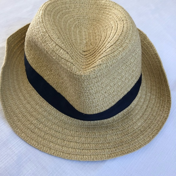 Janie and Jack Other - Boys Straw Fedora Hat 0627d810678d